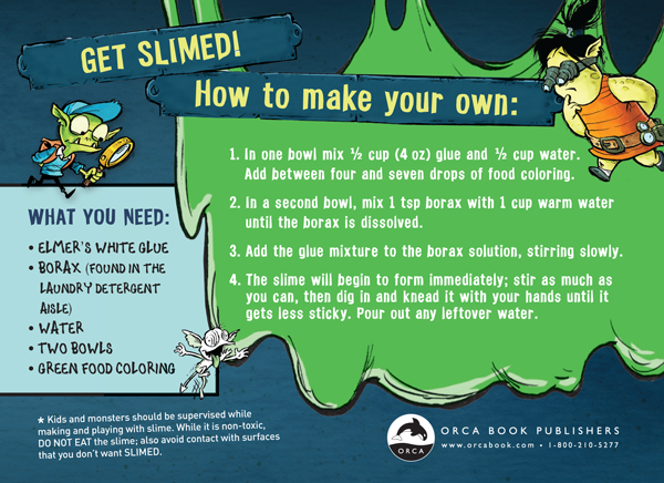 Slime Stampede Takes Over Orca Publishers Liam O 39 Donnell